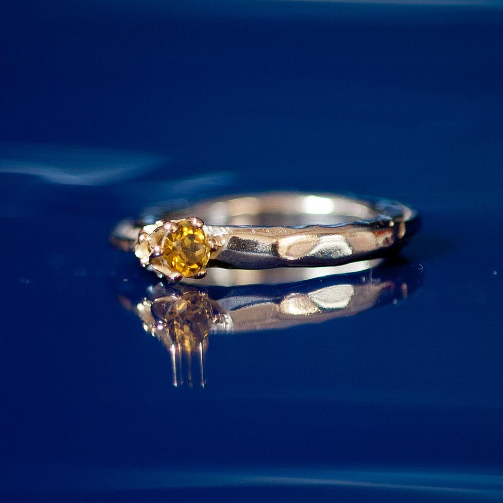 Ring gele granaat